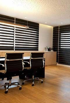 Faux Wood Blinds For Bonita Office
