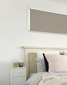 Motorized Blackout Blinds, Chula Vista Bedroom